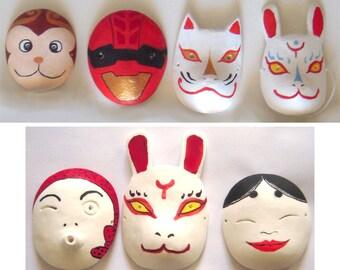 japan oni mask bjd tiny