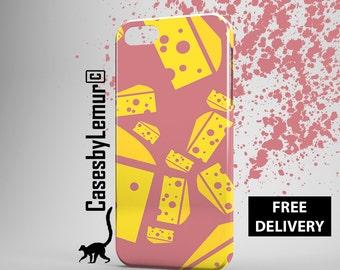 Cheese Iphone 6 case Food Iphone 5C case Pop Art Iphone 5 case Art Print Iphone 6 plus case Designer Iphone 5s case Cute Iphone 4 case