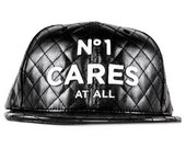 No1 Cares Leather Snapback