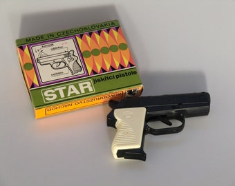 Czechoslovakia Star Sparking Gun Toy