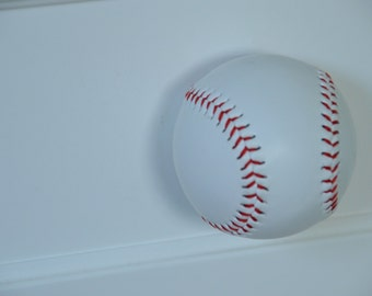 Baseball drawer pulls - set of 2