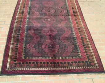 Beautiful vintage Herati zanjeer gul design