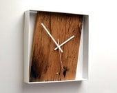 Reclaimed French Oak Wall Clock