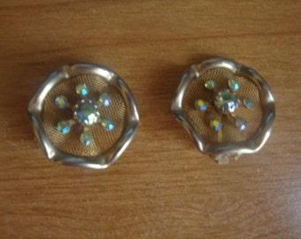1960's clip on earrings