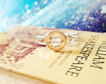 Jane Austen Sense & Sensibility Bangle