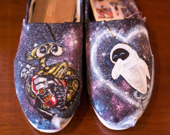Custom hand painted Wall-E Toms