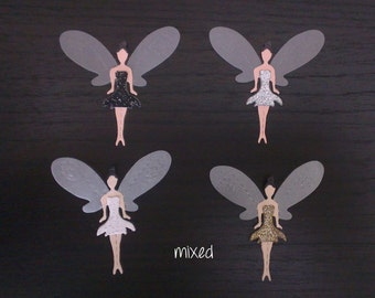 Fairy die-cuts - Mixed - pack of 12