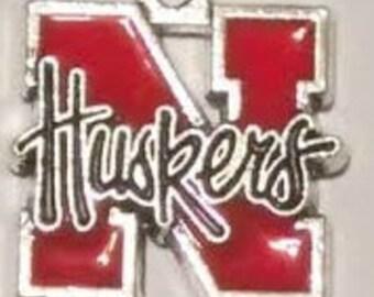 Nebraska Huskers College Charm