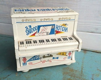 Musical Box - Small Piano - Rinky Dink Piano Music Box - Piano Jewelry Box - Musical Jewelry Box