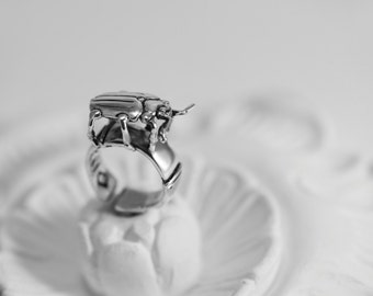 Ring INSECT ASYLUM series  # model 02 COLEOPTERA