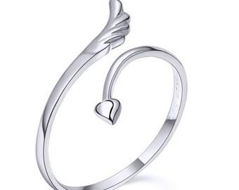 Leaf 925 Silver ring