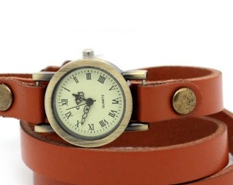 Vintage watch wrap watch