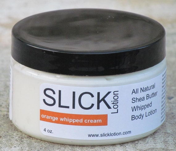 orange whipped cream whipped body lotion by SlickLotion on ...