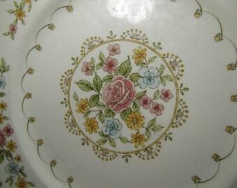 Vintage Noritake Versatone Verse Salad Plate