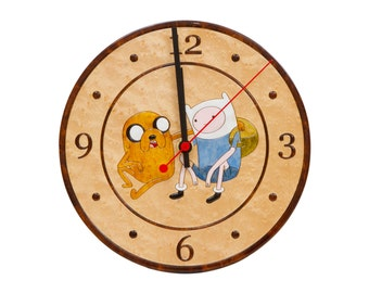 Wall Clock Adventure Time
