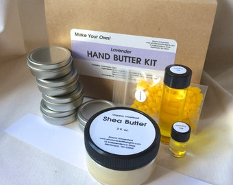 Kit - Make Your Own Hand Butter! (Organic)