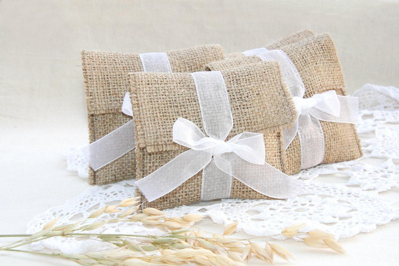 Wedding Bag Gift Ideas: Rustic Wedding Favor Bag Rustic Gift Bag Custom By