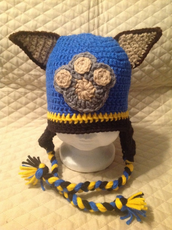 Crochet Patterns Paw Patrol : Crochet Paw Patrol Character Hat.