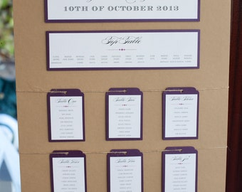 Rustic Kraft Table Plan With Twine