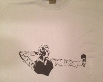 David Bowie - Thin White Duke t shirt by Defstar Clothing.