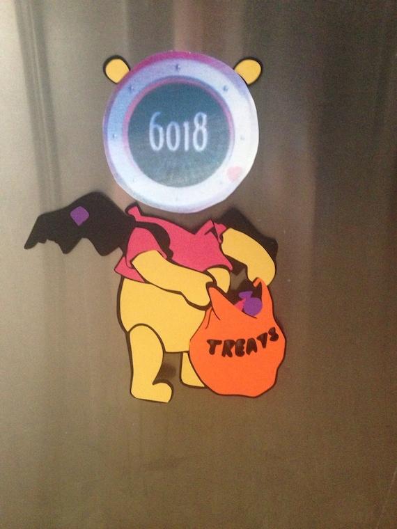 Decorating Ideas > Disney Halloween Pooh Bear Stateroom Cruise Door By  ~ 015650_Halloween Door Magnets