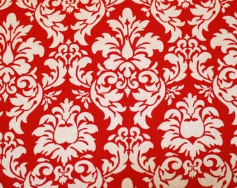 SALE 30% OFF Dandy Damask in Red by Michael Miller Fabrics