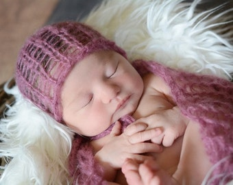 Newborn Mohair wrap, Newborn Wrap, Baby mohair wrap, Newborn Photography Props