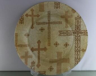 Decorative Cross Plate