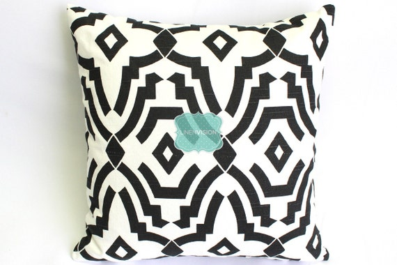 Premier Prints Pillow Cover SHEFFIELD Shadow Black Home