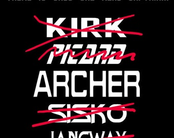 There is only one Star Trek Captain Jonathan Archer Custom T-shirt