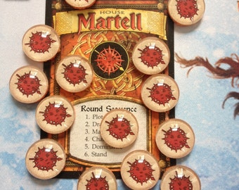 A Game of Thrones Martell Power Counters Power Tokens LCG CCG