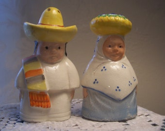 South of The Border Salt & Pepper Shakers, Japan