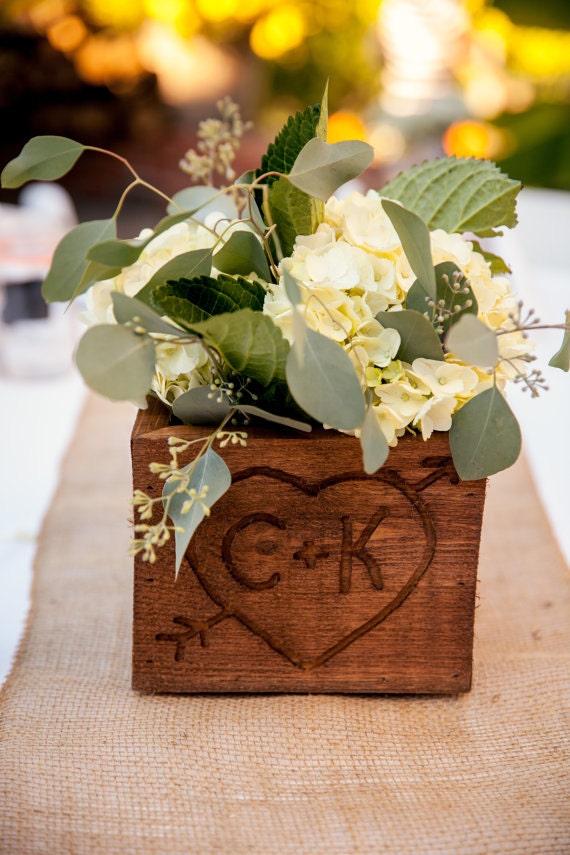Wooden table centerpiece by ramseysrustics on etsy
