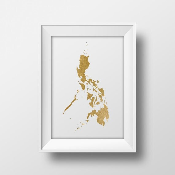 Gold foil philippines map printable map wall art philippines gold foil philippines map printable map wall art philippines map print country map poster printable art instant download gold map asia publicscrutiny Images