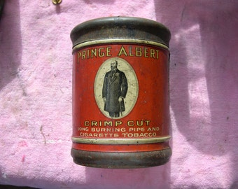 Very old Prince Albert Tobacco tin