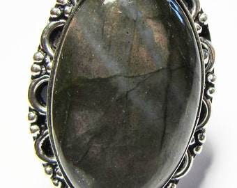 Labradorite ring size 57 or 8