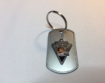 Cincinnati Bengals (NFL) Dog Tag Keychain