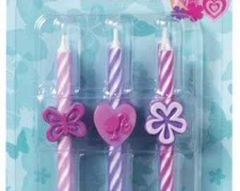 BARBIE ICON Birthday Candles