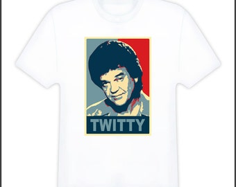 Conway Twitty Retro Music T Shirt