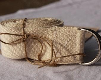 6' Organic Cotton Yoga Strap