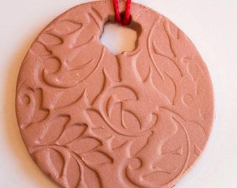 Terracotta Aromatherapy Diffuser Ornament