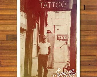 "11"" x 17"" Sailor Jerry Photograph Poster #3"