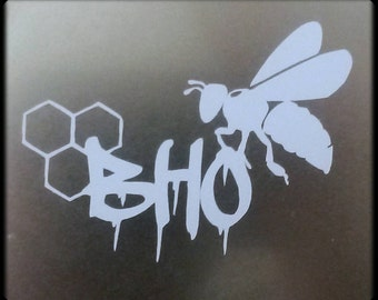 BHO bee decal