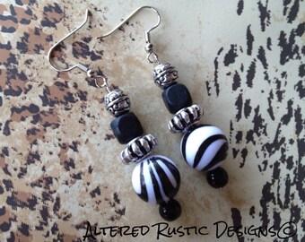 Modern bead earrings/ earrings/ jewelry/ wild earrings/ organic earrings/ drop earrings/ rustic earrings/ unique earrings/ organic jewelry