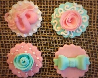 Ballerina Cupcake Toppers - 1 Dozen