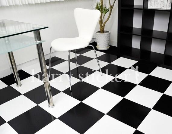 Checkered 12 inch vinyl floor tile backdrop by for Checkered vinyl flooring