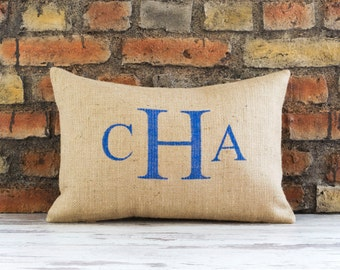 personalized pillow, pillow, personalized, monogram pillow, monogram, monogrammed pillow,wedding gift,personalized gift,burlap pillow cover