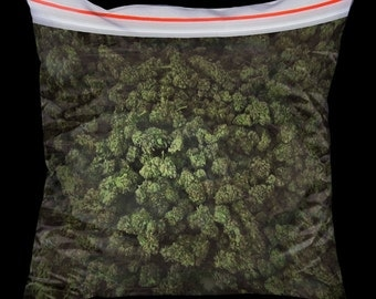 Big bag of weed pillow without stuffing - 18x18