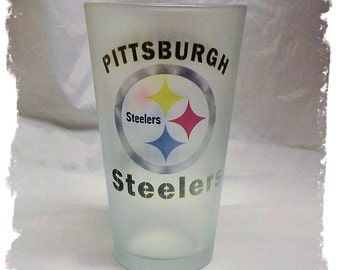 Pittsburgh Steelers Pint Beer Glass
