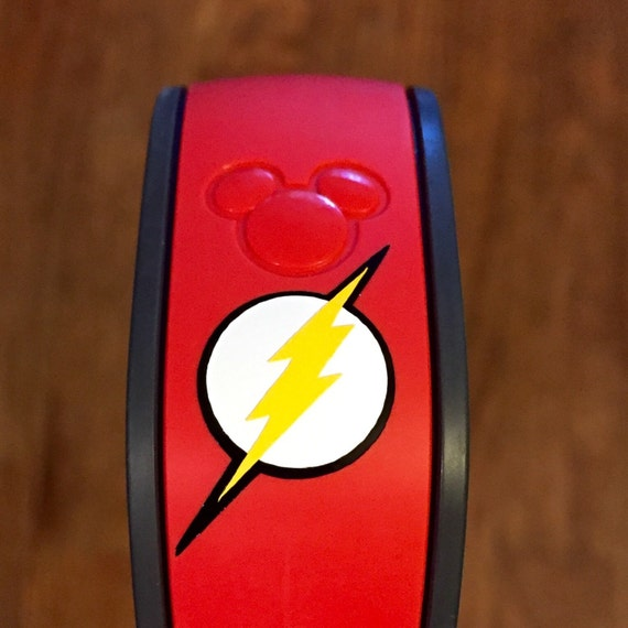 The Flash Magic Band Vinyl Decal - Magic band vinyl decals